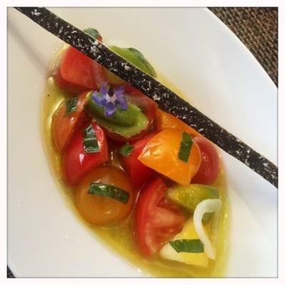 castle terrace edinburgh heirloom tomatoes