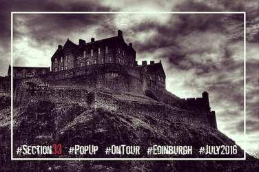 Section 33 Glasgow foodie explorers Edinburgh pop up