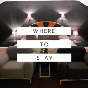 where to stay accomodation hotels b&B hostel