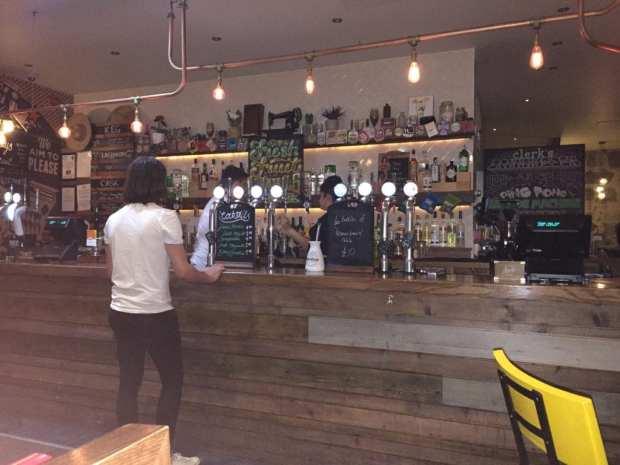 Clerks bar Edinburgh