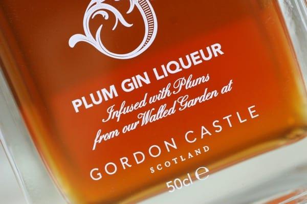 Gordon castle plum gin