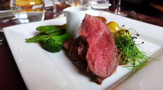 No 11 Brunswick St - Venison steak