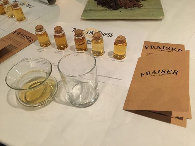 Fraser strawberry whisky liqueur