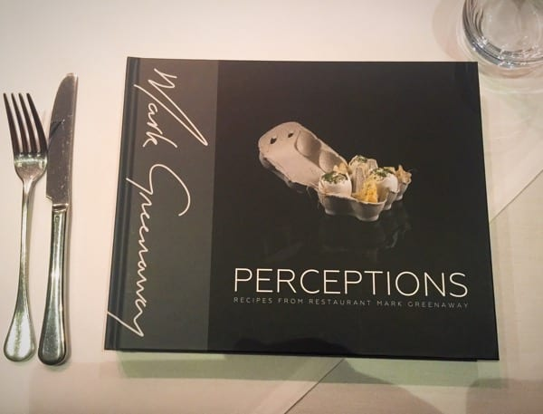 Mark Greenaway perceptions launch