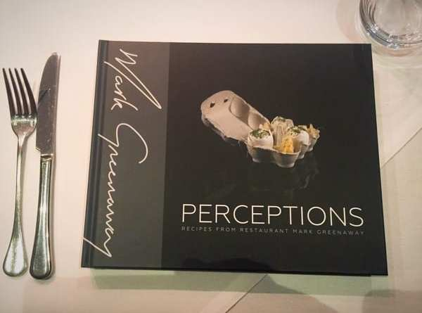 Mark Greenaway perceptions launch