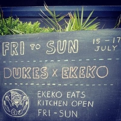Ekeko eats dukes bar Glasgow pop up