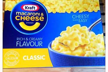 Kraft Mac and cheese product review