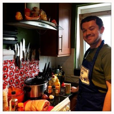 Mr foodie cooking