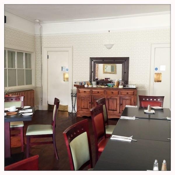 Atholl Arms Dunkeld breakfast room