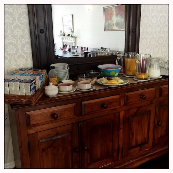 Atholl Arms Dunkeld buffet