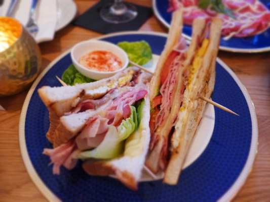 edinburgh il calice club sandwich