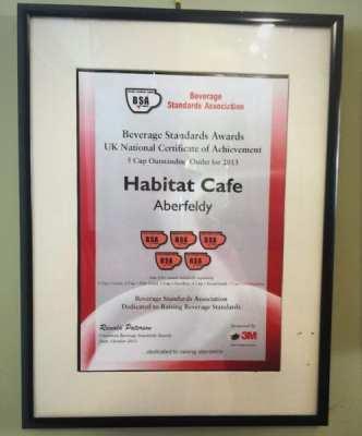 habitat cafe aberfeldy awards 3
