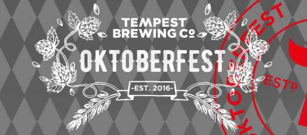 Tempest brewery Oktoberfest