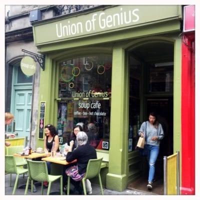 union of genius soup cafe salad bread