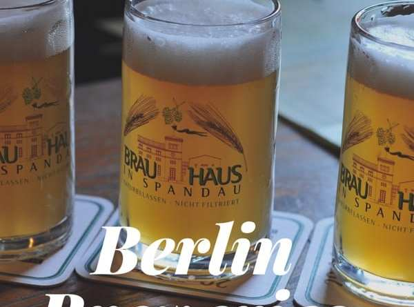 Berlin craft beer breweries microbreweries map tour
