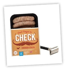 Heck sausages check movember