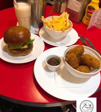 Eds diner Euston station London