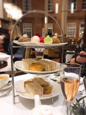 The caledonian hotel Waldorf Astoria afternoon Tea Edinburgh