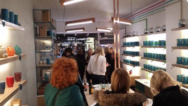 Eteaket Edinburgh - inside shop