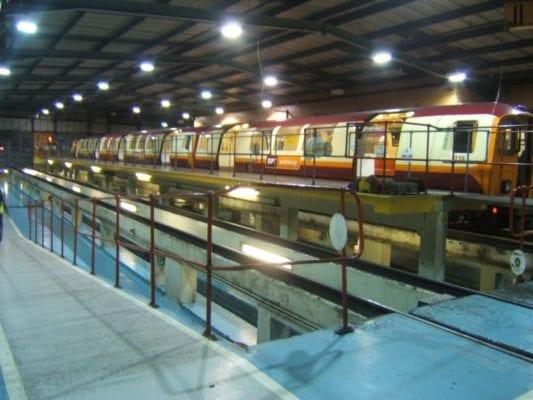 Glasgow subway underground birthday