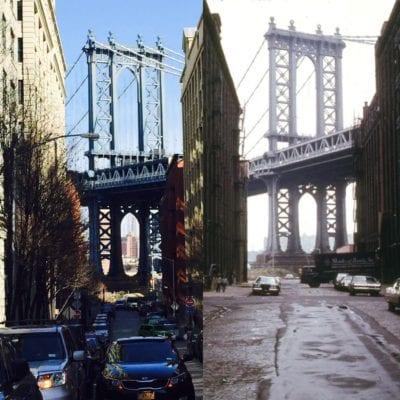 Brooklyn bridge New York past present