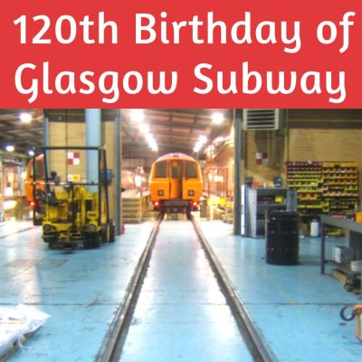 Glasgow subway underground birthday