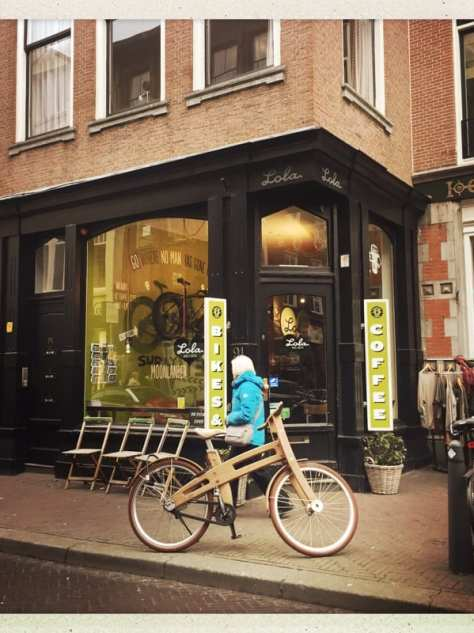 Lola bikes Coffee The Hague Holland Netherlands good coffee