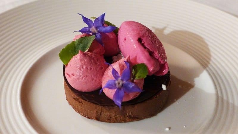 Jesmond Dene House Hotel - Chocolate truffle