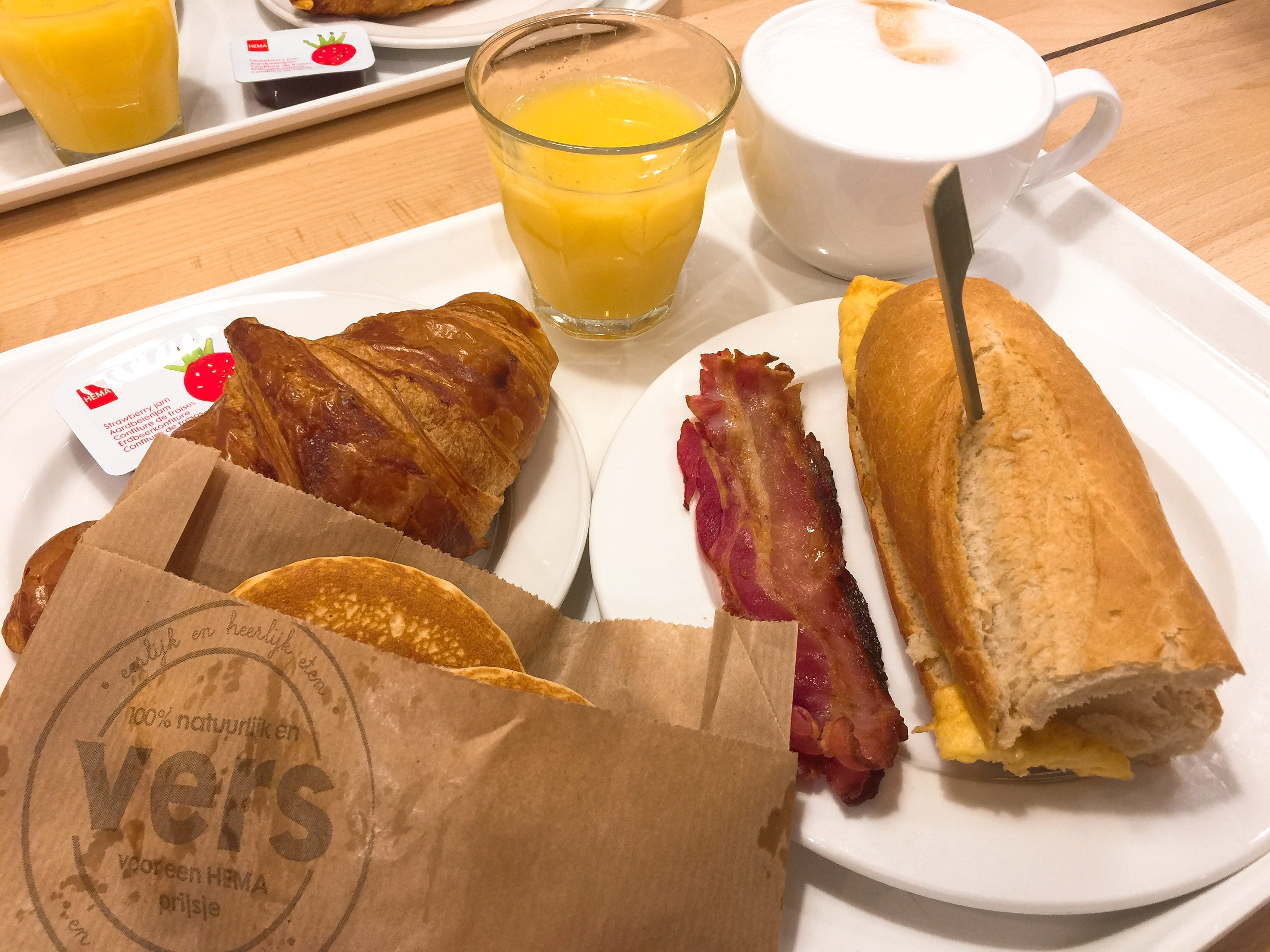 Food: Cheap breakfast in The Hague, Amsterdam and more