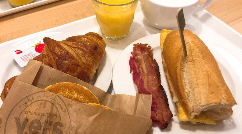 Hema The Hague cheap breakfast Holland Netherlands