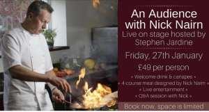 Nick Nairn doubletree Hilton