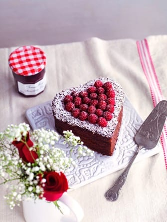 Recipe: Bonne Maman Valentine's Chocolate Cake