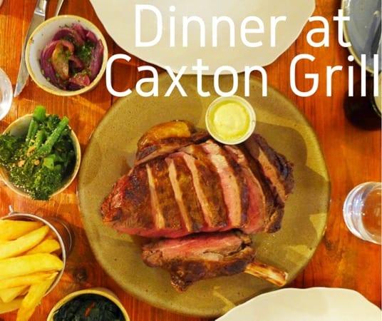 Caxton grill josper London