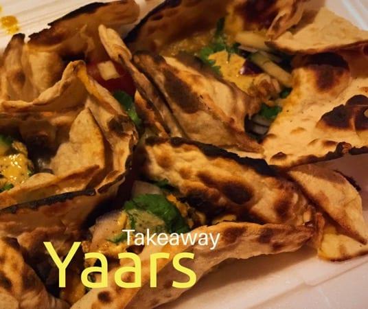 Yaars Indian takeaway Southside glasgow