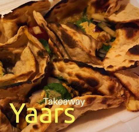 Yaars Indian takeaway Southside glasgow