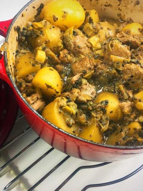 lamb leek casserole