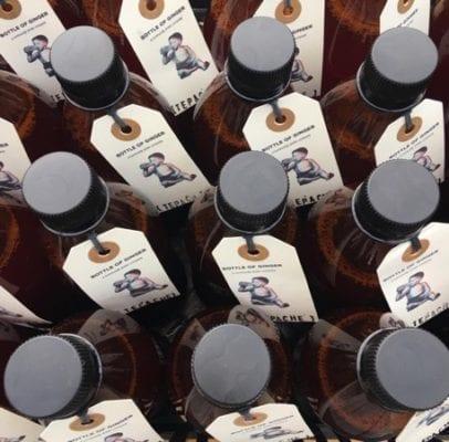 Bottle of Ginger crowdfunder