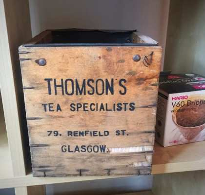 thomsons coffee tea old