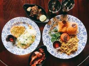 Dishoom breakfast above