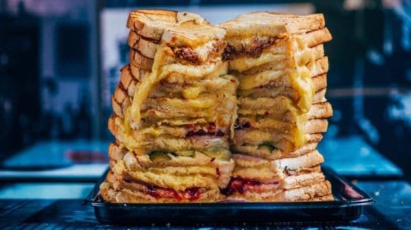 Grahams the family dairy national grilled cheese sandwich day