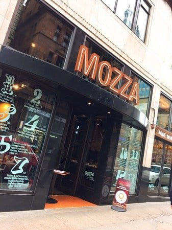 Mozza pizza glasgow