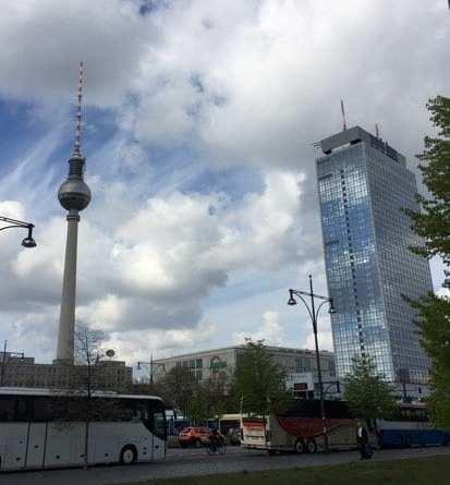 Glasgow food blog Foodie explorers travel Berlin Alexander Platz