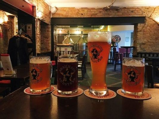 Glasgow food travel blog Berlin beer bier