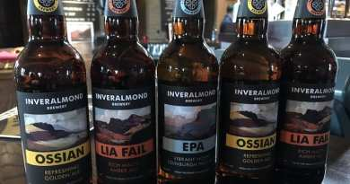 New Beer and facelift at Inveralmond Brewery