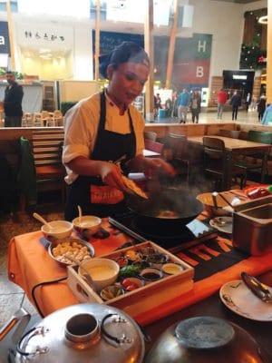 Thaikhun SIlverburn Cookery Class chef