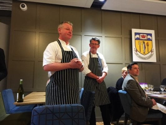 chefs glasgow college culinary arts dinner