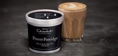 power porridge hotel chocolate glasgow food blog
