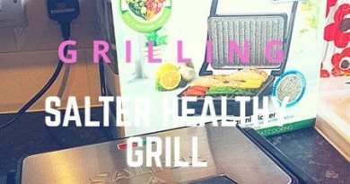 Product Review: Salter Marble Health Grill and Panini Maker