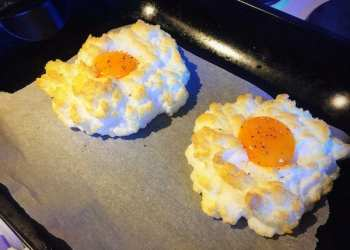 Glasgow food blog Cloud Egg Recipe Instructions Step 8