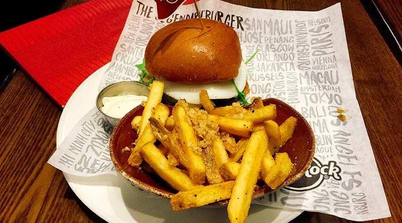 Hard Rock Cafe - Buenos Aires burger